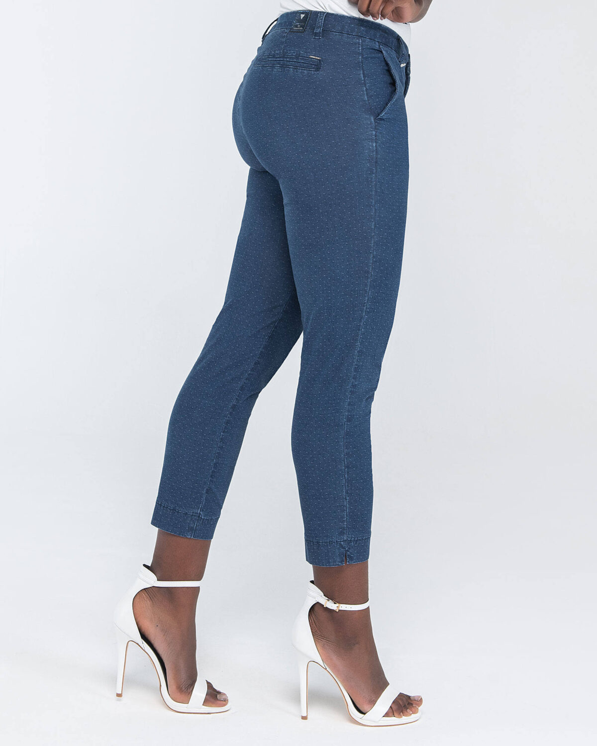 jeans chinos micro pois